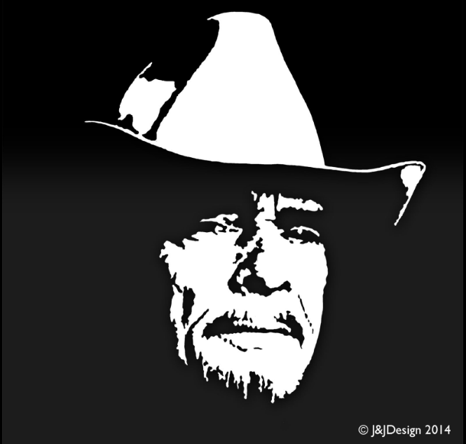 MERLE HAGGARD Country Western Classic Music Vinyl Sticker Decal