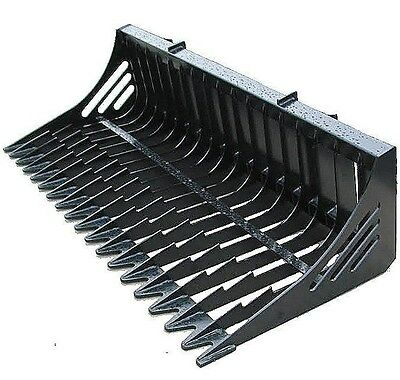 66 Inch Skid Steer Skeleton Bucket Universal Quick Attach Free Shipping