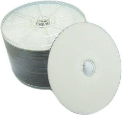 600 pcs 16X Blank DVD-R DVDR White Inkjet HUB Printable Disc Media 4.7GB