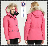 PINK XS Montebello Canada Goose Parka - DISCONTINUED COLOUR