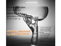 MASSAGE by MALE MASSEUR - FULL BODY RELAXATION - DEEP TISSUE (OUTCALL) to HOTEL /HOME (Gay Friendly)