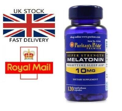 EXTRA STRENGTH 10mg x 120 Sleeping Pills Sleep Aid UK Posted from UK