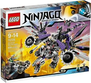 LEGO NINJAGO 70725 Nindroid MechDragon NEW WAVE FACTORY SEALED