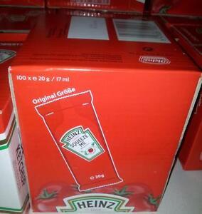 Heinz Ketchup Portionen 100 x 20 Gr. (4,33 EUR pro 1 kg)