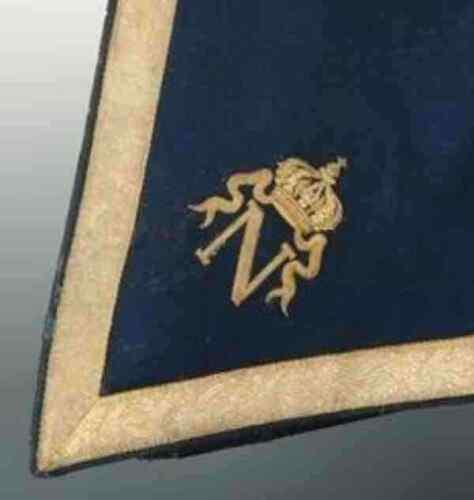 Custom Saddle Shabraque Hussar Dragoon Patch Uhlan Lancer Cypher Monogram Horse