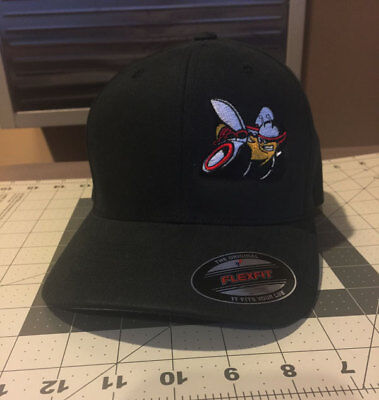 Custom Embroidered Scat Pack Style Fitted Hat You Choose Size and Colors](Pack Hat)