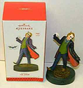 Heath Ledger Joker Hallmark Christmas Ornament