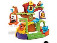 Toot toot animal house with panda