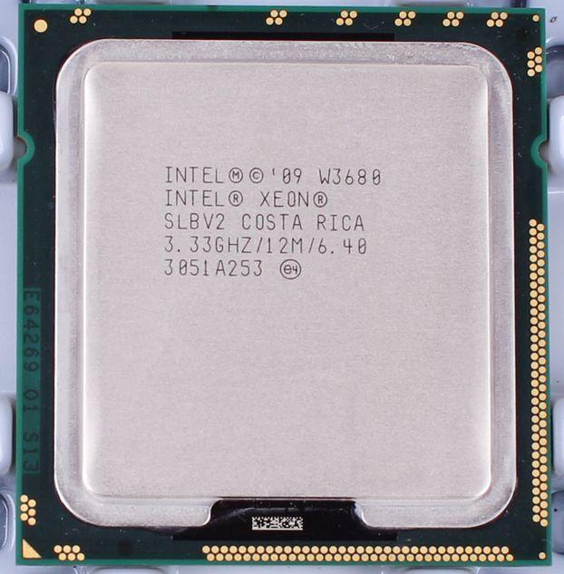 Intel Xeon W3680 Six Core 12M Cache 3.33 GHz 6.4 GT/s LGA 1366 CPU Prozessoren