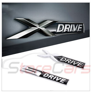 logo emblema adhesivo bmw 3d xdrive sdrive x drive s drive x1 x3 x5 x6 m3 ebay. Black Bedroom Furniture Sets. Home Design Ideas