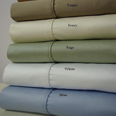 Best Luxury Soft 1200 Thread Count Sheets 100% Combed Cotton Silky Smooth