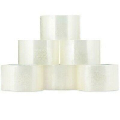 18 Rolls Carton Sealing Clear Packing Tape Box Shipping - 2 Mil 2 X 55 Yards Us
