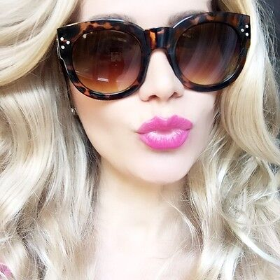 HOT Round Baby Audrey Brown Tortoise Sexy Doll Fashion Designer Sunglasses 9758 for sale  Shipping to Canada