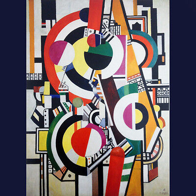 FERNAND LEGER Image LES DISQUES in Silk SCARF