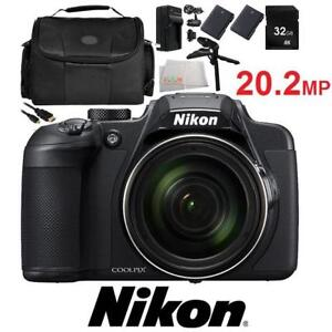NEW NIKON COOLPIX D700 CAMERA KIT 144713722 INCLUDES ACCESSORY KIT
