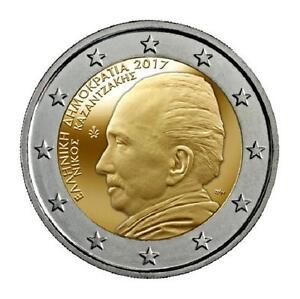 GRECIA-2-euros-2017-Nikos-Kazantzakis-s-c