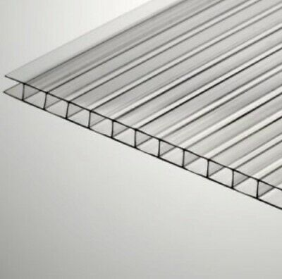 24x 72x 8mm516 Pak Of 2 Polycarbonate Clear Sheets