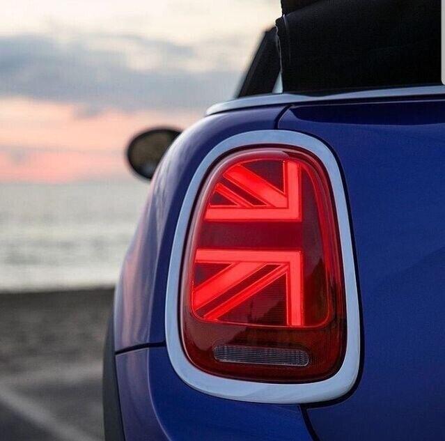 Mini Union Jack Rear Led Lights F55 F56 F57 Models Cooper S D One In