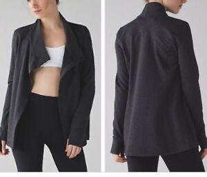 Lululemon wrap cardigan top like aritzia zara adidas nike