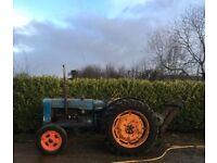 Fordson Major with Cooke winch