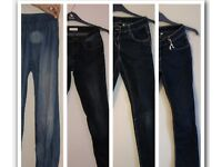 4 Blue Jeans for Girls Aged 12-13