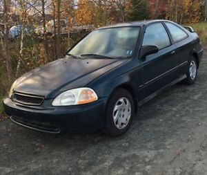 1998 Honda Civic coupe dx 6th gen for parts