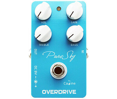 Caline CP-12 Pure Sky Overdrive Guitar Effects Pedal