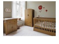 Cot Bed & Changing Unit