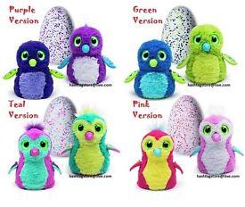 6 x Hatchimals ( 2 x pink, 2 x purple, 2 x teal)