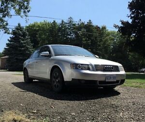 2002 Audi A4 1.8t sedan automatic/triptronic safety and etested London Ontario image 1