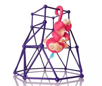 Fingerlings Monkeys Jungle Gym Play Set Only Purple Stand For Fingerlings Toys