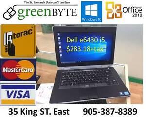i5  Dell Latitude e6430 2.7 GHz 3 gen  8 GB-RAM  win 10