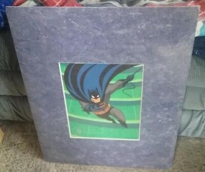 BATMAN SPECIAL EDITION SERICEL WARNER BROS. SEAL OF AUTHENTICITY sealed 16x20