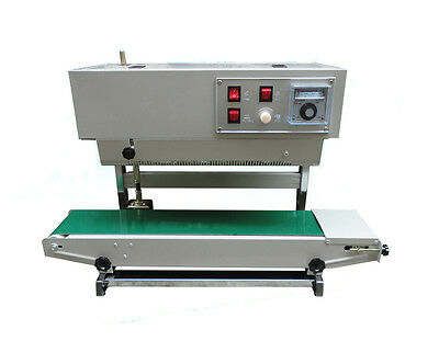 220v Automatic Continuous Vertical Plastic Bag Band Sealing Machine Film Sealer