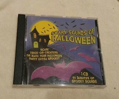 Scary Sounds Of Halloween Music CD - Not Scary Halloween Music