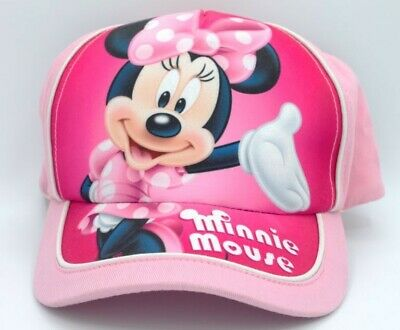 Adorable Minnie Mouse Girls Pink Baseball Cap, New with Tag](Pink Minnie Mouse)