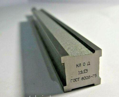 "Precision 4-Sided Machinist Straight Edge 200mm / 7.87"" Grade 0 USSR"