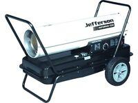 Jefferson 150 Inferno 150 space heater Diesel/Kerosene/Paraffin