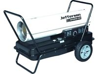 Jefferson 150 Inferno 150 space heater Diesel/Kerosene/Paraffin