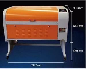 23.62*35.43inch 6090 60W Laser Tube CO2 Laser Engraving Cutting Machine Engraver 110V 130057