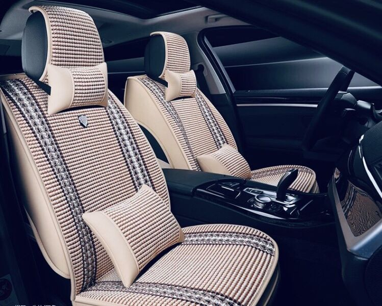 4 Seasons Suitable Sweden Car 5 Seats Cover In Good Condition