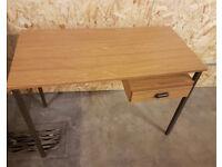 Vintage retro desk