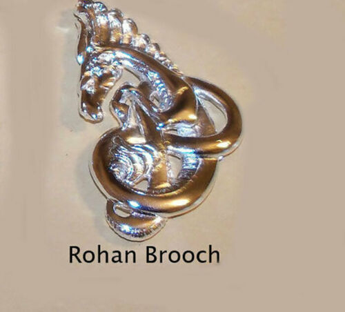 LOTR Lord of the Rings The Rohan Brooch Sterling Silver .925