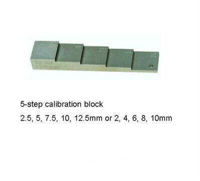 Ultrasonic Thickness Gauge 5-step Calibration Blocks 5steps