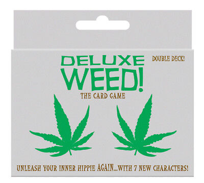 108 Cards Adult Card Game - Deluxe WEED! The Outrageously Fun Game for Any Party ()