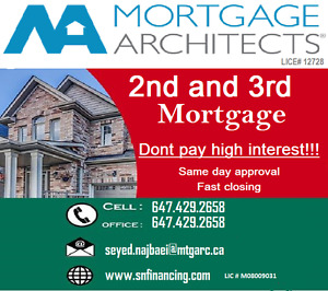We provide 2nd & 3rd Mortgage