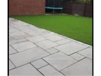 Landscaping services block paving decking driveways wood fencing Indian stone turfing flagging walls