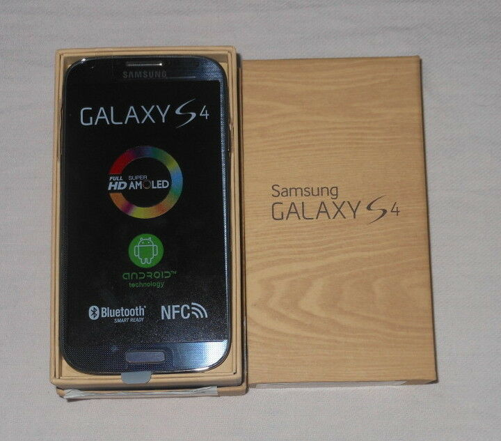 New Unlocked Samsung Galaxy S4 S 4 SGH-I337 16GB - Black Mist AT&T I9500