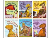 Childrens Books-How Do Dinosaurs Collection By Jane Yolen& Mark Teague - 6 Books Excellent Condition