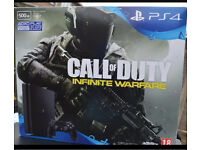 Brand new ps4 slim 500GB with receipt from Argos with Call of Duty infinite Warfare